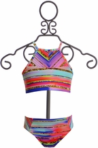 Lulita Two Piece Swimsuit Reversible (4 & 5)
