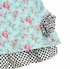 Mack & Co Blue Dress with Flowers (Size 8) Alternate View