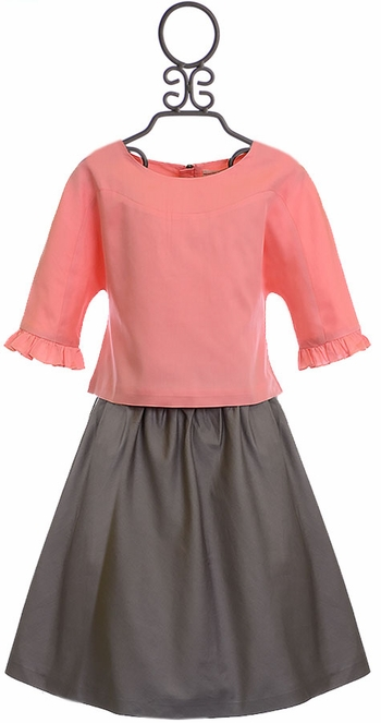 Marin and Morgan Circle Skirt and Blouse (5 & 7)