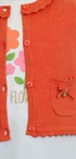 Mayoral Autumn Flowers Infant Outfit (Size 24Mos) Alternate View #2