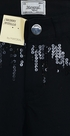 Mayoral Black Distressed Pants with Sequins (Size 10) Alternate View #2