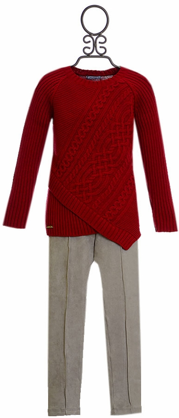Mayoral Designer Sweater Set for Girls (Size 5)
