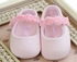 Mayoral Light Pink Infant Shoe with Rosettes Alternate View #2
