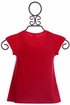 Mayoral Red Short Sleeve Top (Size 2) Alternate View
