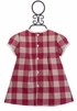Mayoral Red Holiday Dress for Infants (0-1 Mos & 1-2 Mos) Alternate View
