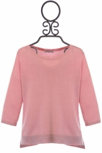Mayoral Spring Sweater in Light Pink (Size 10)