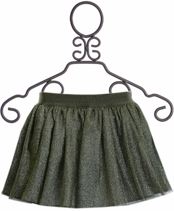 Mayoral Tulle Skirt in Green (Size 14)