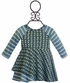 Mimi and Maggie Baby Girls Dress with Daisies in Blue (Size 12Mos) Alternate View