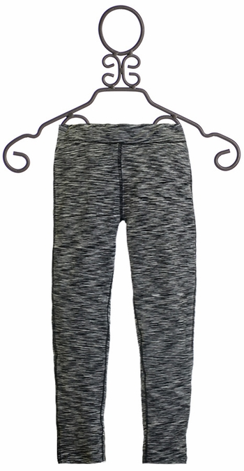 Mimi and Maggie Girls Leggings in Black and White (Size 2T)