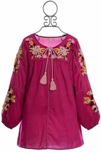 Mimi and Maggie Girls Peasant Dress (5 & 6X)