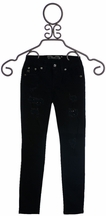 Miss Me Distressed Jeans for Tweens in Black (12 & 14)