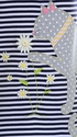 Mud Pie Daisy Cat T-Shirt Dress SOLD OUT Alternate View #2