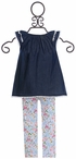 Mud Pie Hen and Chick Tunic and Leggings Set SOLD OUT Alternate View