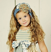 Mustard Pie Amber Fields Colette Headband (Infant & Tween)