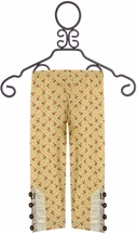 Mustard Pie Amber Fields Legging Butter (12Mos,2T,3T,4)