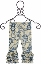 Mustard Pie Amber Fields Navy Legging (Size 12Mos)