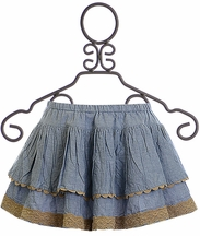 Mustard Pie Andalusia Penelope Skirt (Size 12Mos)