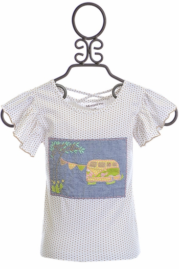 Mustard Pie Andalusia Pippa Top (12Mos,18Mos,24Mos,4T,4)