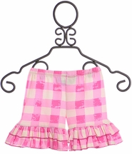 Mustard Pie Apple Blossom Pink Shortie (Size 10)