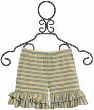 Mustard Pie Ella Shortie Amber Fields Stripe (Size 5)