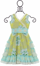 Mustard Pie Enchanted Dress Apple Blossom (18 Mos & 4)