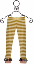 Mustard Pie Jeweled Forest Leggings Griffin (Size 18Mos)