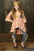 Mustard Pie Jeweled Forest Leggings Sargent (12Mos,2T,4T,4) Alternate View #3