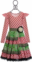 Mustard Pie Mystic Evergreen Mckenna Dress (Size 2T)