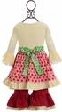 Mustard Pie Mystic Evergreen Olivia Dress Set (Size 3Mos) Alternate View