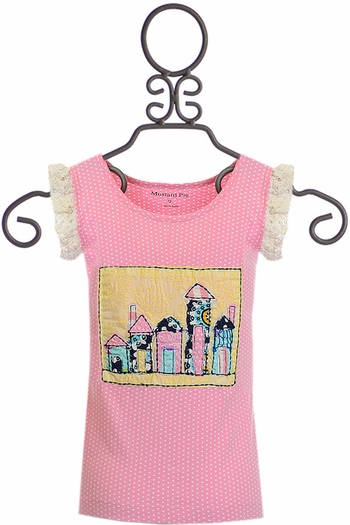 Mustard Pie Secret Garden Raven Top (12Mos & 4T)