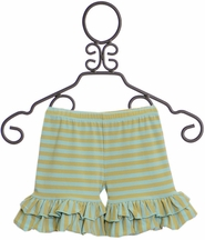 Mustard Pie Shortie Apple Blossom Aqua (Size 12Mos)
