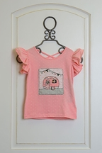 Mustard Pie Sugar Blossom Pippa Top Girls (Size 12 Mos)