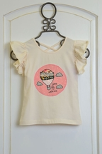 Mustard Pie Sugar Blossom Top Pippa Girls (Size 12Mos)