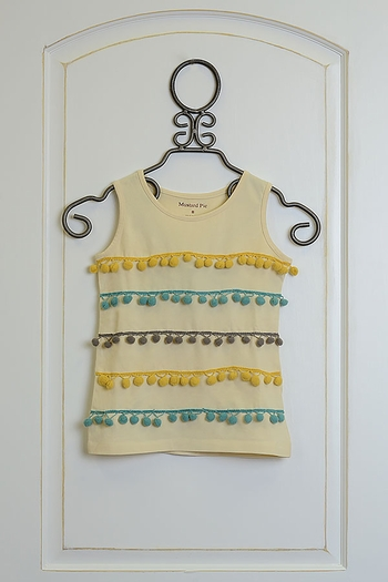 Mustard Pie Sunset Dunes Scarlett Top (Size 18Mos)