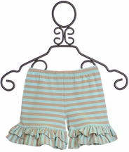 Mustard Pie Sweet Pea Blue Shortie (12Mos,2T,6,6X)