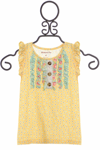 Mustard Pie Sweet Pea Gracie Top SOLD OUT