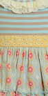 Mustard Pie Sweet Pea Mae Apron Dress (Size 3T) Alternate View #2
