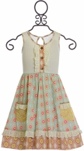 Mustard Pie Sweet Pea Maggie Dress (Size 2T)