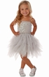 Ooh La La Couture Designer Gown Silver (2T,3T,6X/7) Alternate View #3