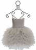 Ooh La La Couture Designer Gown Silver (2T,3T,6X/7,10,12) Alternate View