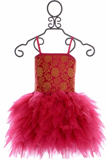 Ooh La La Couture Emma Dress Hot Pink (Size 3T)
