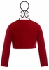 Ooh La La Couture Girls Shrug in Red (12Mos,18Mos,3T,4) Alternate View