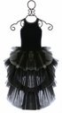 Ooh La La Couture Luxury Dress in Black (SOLD OUT) Alternate View