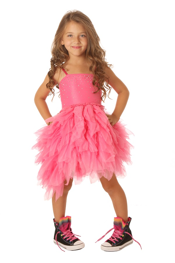 Ooh la la couture pink girls devin dress for La couture clothing