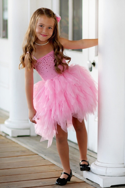 Ooh la la couture pink lady girls devin dress for La couture clothing
