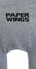 Paper Wings Gray Swan Tights for Girls (XS2/3 & SM4/5) Alternate View #2