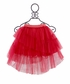 Paper Wings Hot Pink Hi Low Tulle Skirt (Size 2) Alternate View