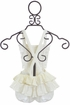 Paper Wings Overall Romper in White Eyelet (Size 12 Mos) Alternate View