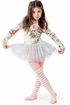 Paper Wings Vintage Rose Leotard for Girls (2,8,10) Alternate View #3