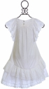 Paper Wings White Dress with Eyelet (2,3,5) Alternate View
